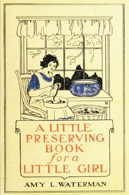 A Little Preserving Book for a Little Girl