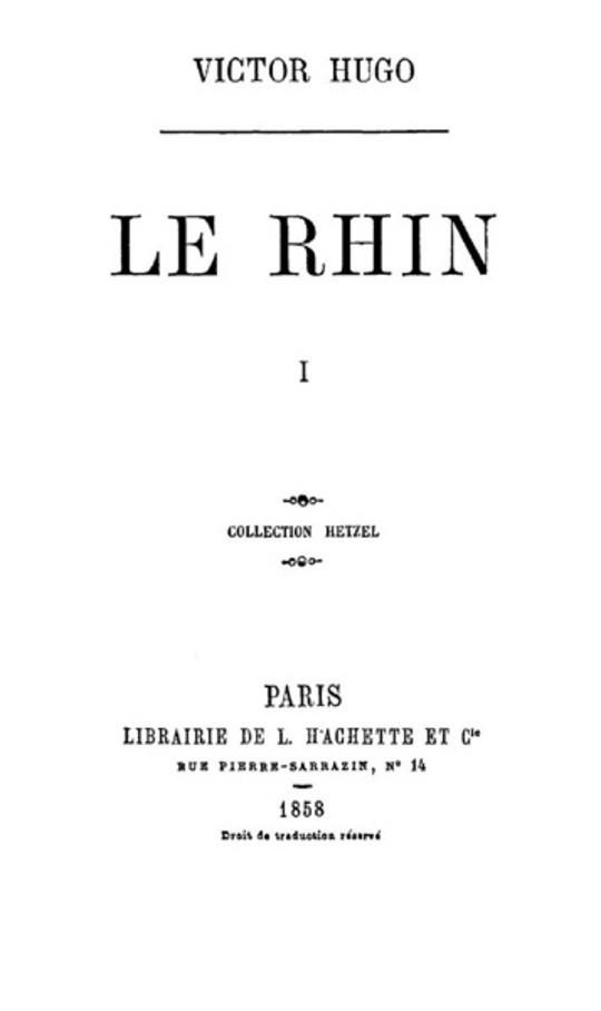 Le Rhin I