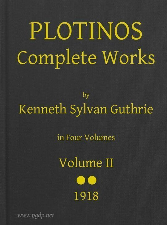 Plotinos: Complete Works, v. 2 In Chronological Order, Grouped in Four Periods