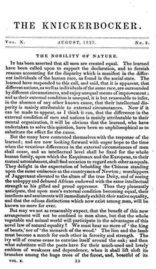 The Knickerbocker, Vol. 10, No. 2, August 1837