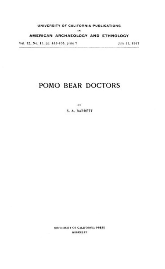 Pomo Bear Doctors