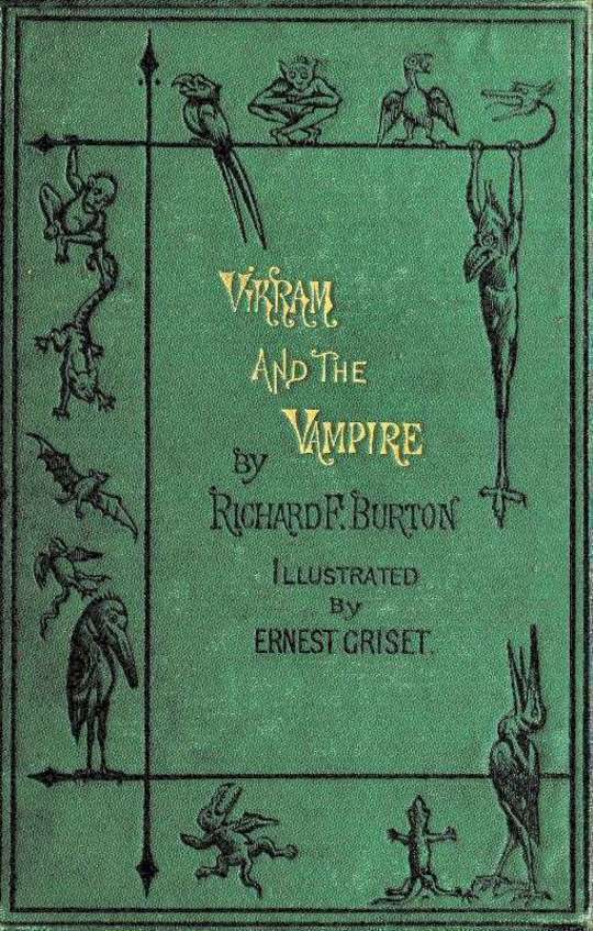 Vikram and the Vampire or Tales of Hindu Devilry