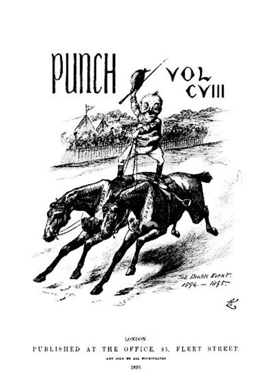 Punch, or the London Charivari, January 5th, 1895
