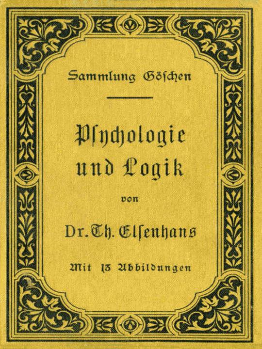 Psychologie und Logik zur Einführung in die Philosophie