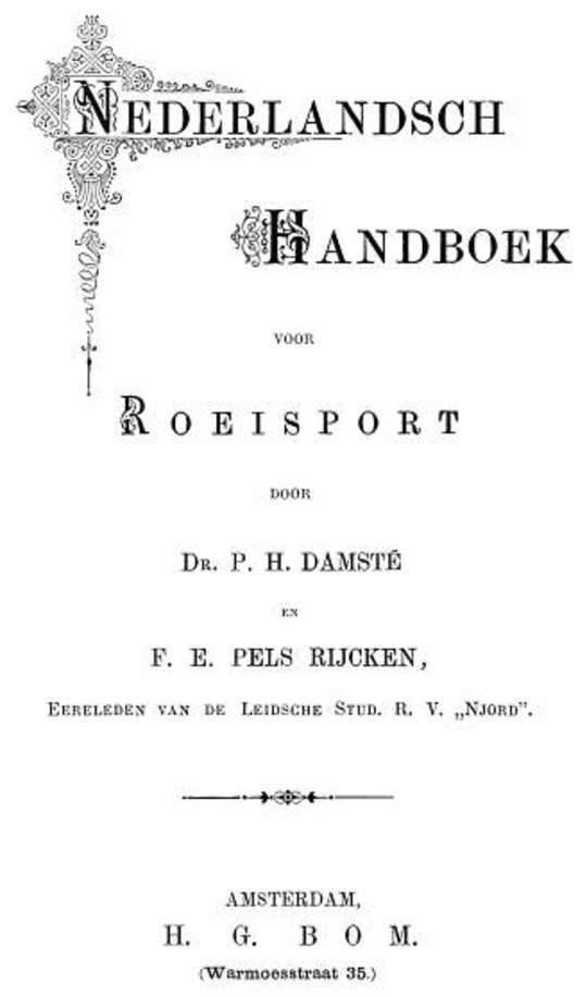 Nederlandsch handboek voor roeisport