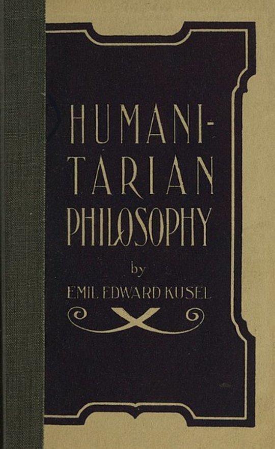 Humanitarian Philosophy, 4th Edition