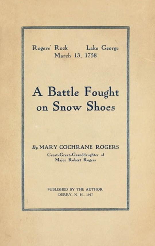 A Battle Fought on Snow Shoes