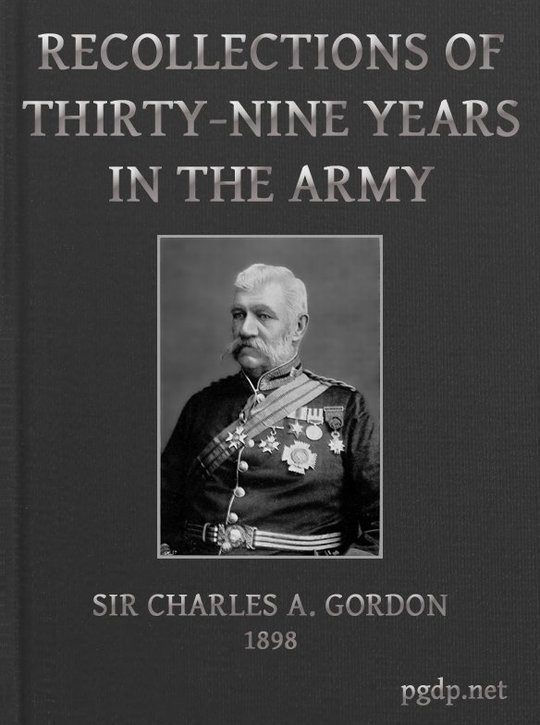 Recollections of Thirty-nine Years in the Army