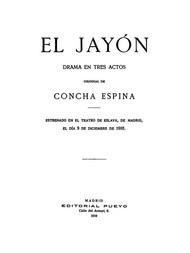 El Jayón Drama en tres actos