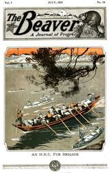 The Beaver, Volume 1, No. 10, July, 1921.