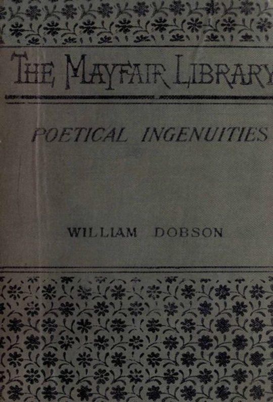 Poetical Ingenuities and Eccentricities