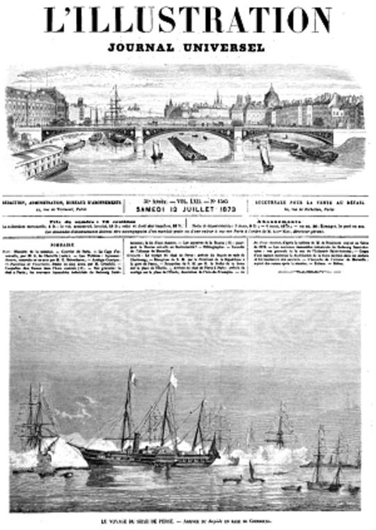 L'Illustration, No. 1585, 12 Juillet 1873