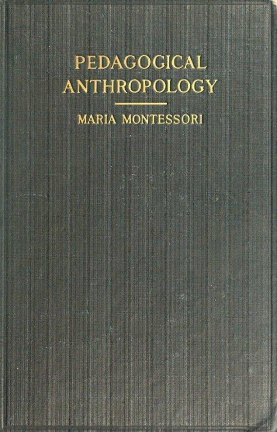 Pedagogical Anthropology