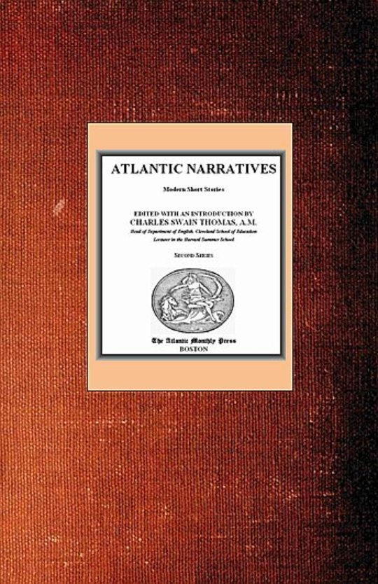 Atlantic Narratives: Modern Short Stories; Second Series