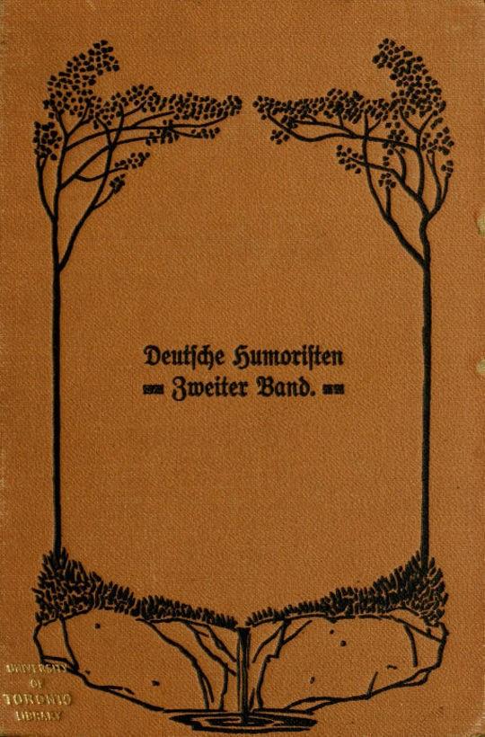 Deutsche Humoristen, Zweiter Band