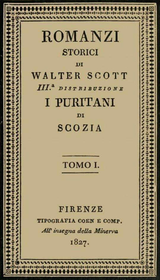 I Puritani di Scozia, vol. 1