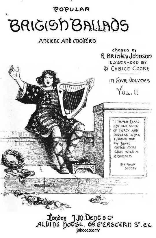 Popular British Ballads, Ancient and Modern, Vol. 2 (of 4)