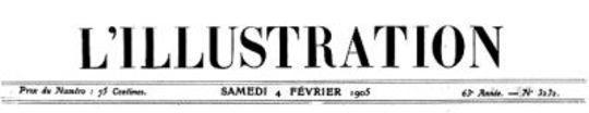 L'Illustration, No. 3232, 4 Février 1905
