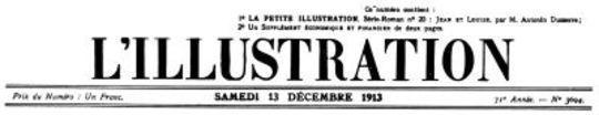 L'Illustration, No. 3694, 13 Décembre 1913
