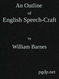 An Outline of English Speech-craft