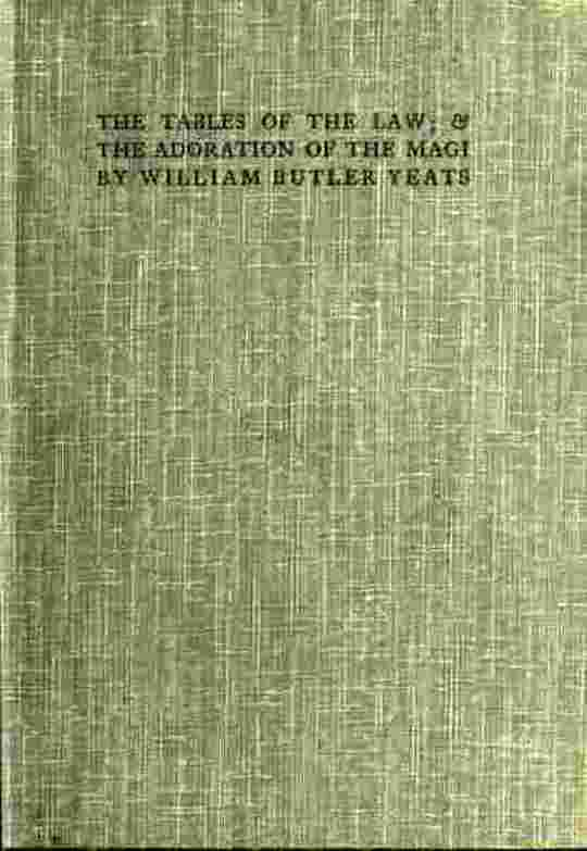 Tables of the Law; & The Adoration of the Magi