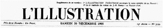 L'Illustration, No. 3279, 30 Décembre 1905