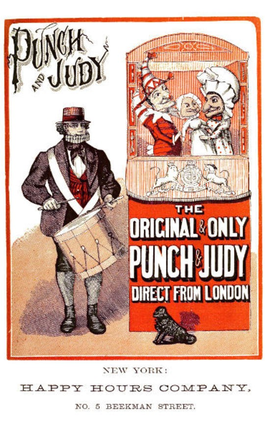 Punch and Judy The tragical acts, or comical tragedies of Punch and Judy