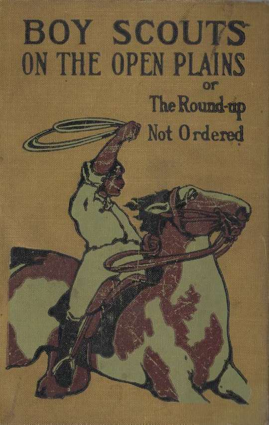 Boy Scouts on the Open Plains The Round-Up Not Ordered
