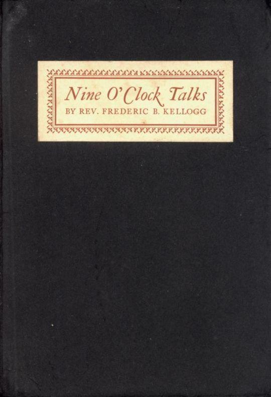 Nine O'Clock Talks