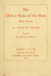 The Other Side of the Sun: Fairy Stories