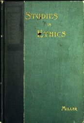 Short Studies in Ethics An Elementary Text-Book for Schools