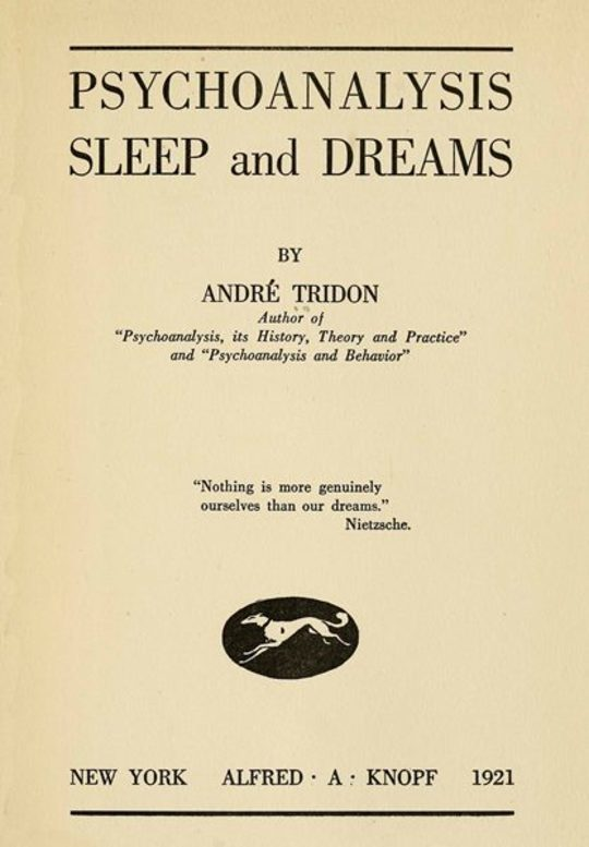 Psychoanalysis Sleep and Dreams