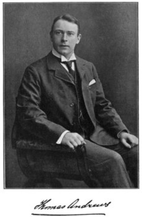 Thomas Andrews, Shipbuilder