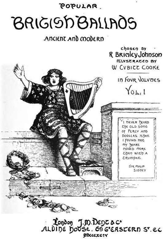 Popular British Ballads, Ancient and Modern, Vol. 1 (of 4)