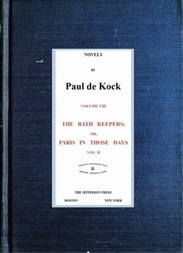 The Bath Keepers, v.2 (Novels of Paul de Kock Volume VIII)