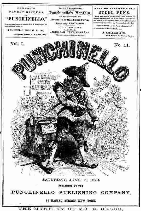Punchinello, Volume 1, No. 11, June 11, 1870