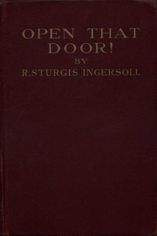 Open That Door!