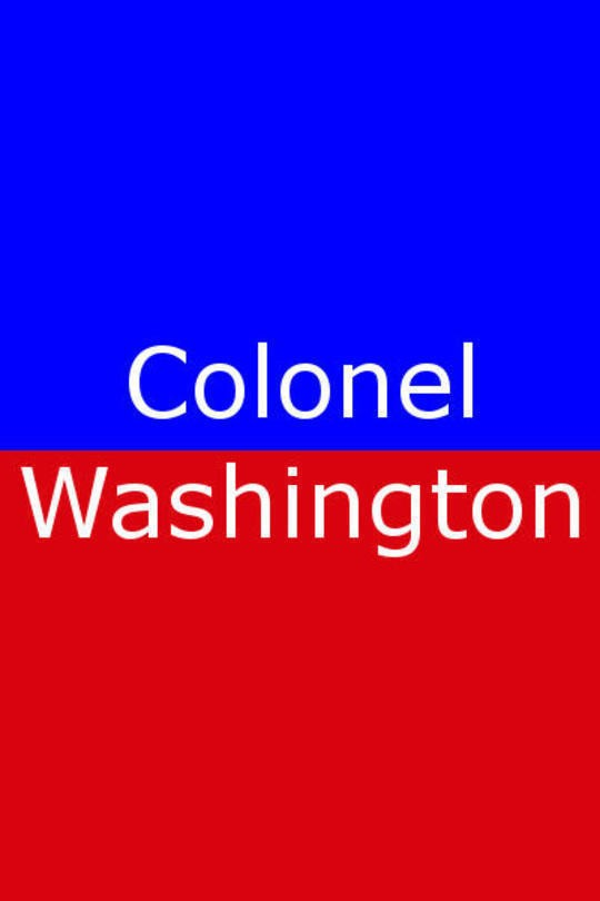Colonel Washington