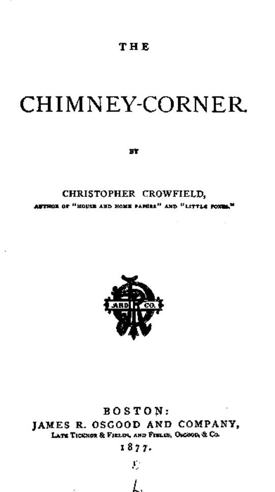 The Chimney-Corner