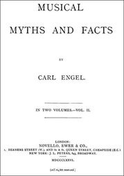 Musical Myths and Facts, Volume II (of 2)