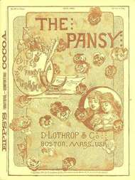 The Pansy Magazine, May 1886