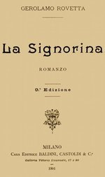 La Signorina Romanzo