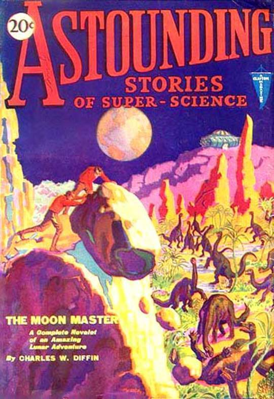 Astounding Stories of Super-Science, June, 1930