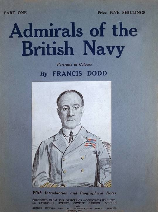 Admirals of the British Navy Portraits in Colours with Introductory and Biographical Notes