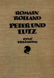 Peter und Lutz Eine Erzählung mit sechzehn Holzschnitten von Frans Masereel