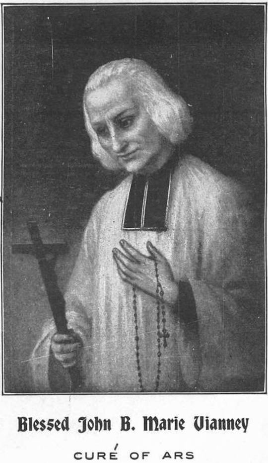 The Life of Blessed John B. Marie Vianney, Curé of Ars With a Novena and Litany to this Zealous Worker in the Vineyard of the Lord