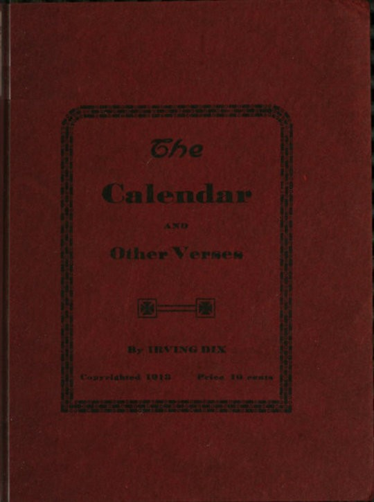 The Calendar and Other Verses
