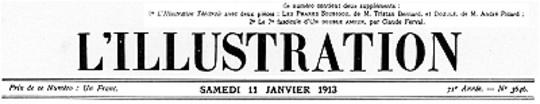 L'Illustration, No. 3646, 11 Janvier 1913