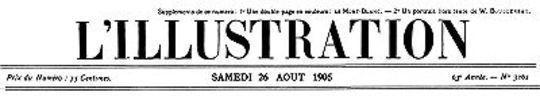 L'Illustration, No. 3261, 26 Août 1905