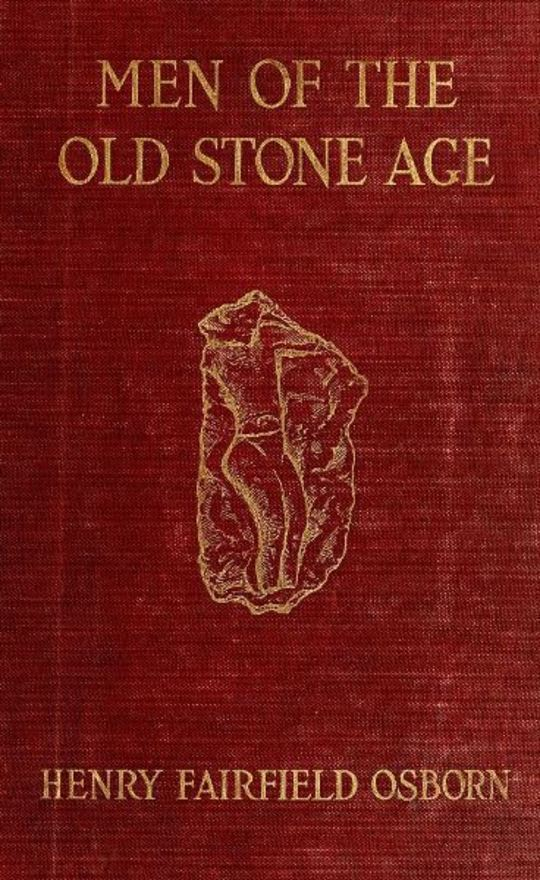 Men of the Old Stone Age Their Environment, Life and Art